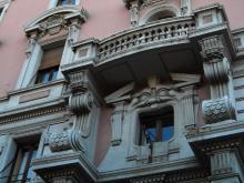 Facciata Banca San Paolo Cagliari - foto di C. Cani